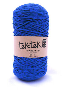 Crafting Cotton 6ply CHELSEA BLUE  New Cotton Knit Crochet Weave 220m washable
