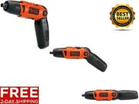 NEW CORDLESS LITHIUM ION RECHARGABLE ELECTRIC SCREWDRIVER POWER TOOL PERFECT GIF