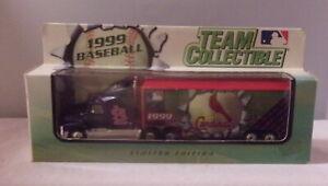 KKar White Rose - 1999 Team Collectible - Ford Aeromax - Blue - StL. Cardinals