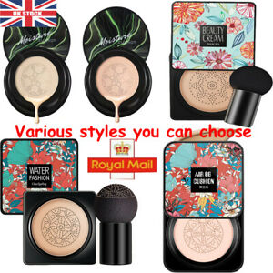 Flawless Mushroom Head Air Cushion BB Cream Concealer Foundation Moisturizing UK