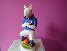 White Bull Terrier Italy Footballer Robert Harrop Doggie People World Cup