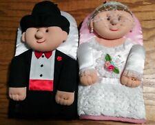 Oven Mitts Bride Groom Set of 2 Wedding Hot Pan Pot Holders Unique Wedding Gift