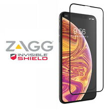NEW ZAGG InvisibleSHIELD Glass Curve (Clear/Black) for Apple iPhone XS MAX
