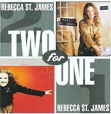 Rebecca St James , God/Transform : 2 albums on 1 CD, NEW and SEALED