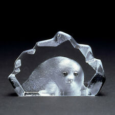 MINIATURE ~ MATS JONASSON ~ Crystal BABY SEAL * - Rare