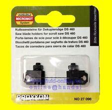 PROXXON 27096 Paar Kulissensteine zum Sägeblattwechsel für Dekupiersäge DS460