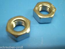 Edelstahl V2A Sechskant Muttern DIN 934 M1,0 M1,2 M1,4 - M20 Rostfreier Stahl