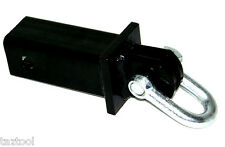 """D-Ring 2"""" Hitch Bar Vehicles Recovery Tow Pull Towing 10,000 lb"""