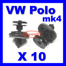 VW POLO DOOR CARD PANEL TRIM CLIPS MK4 INTERIOR PLASTIC CLIPS
