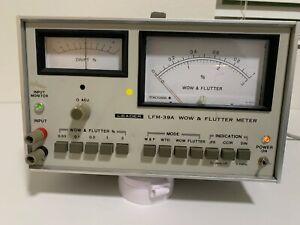 LEADER WOW FLUTTER METER LFM-39A
