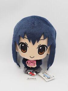 "K-On! B2903 Azusa Nakano Banpresto 2012 Plush 6"" TAG Toy Doll Japan"