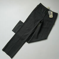 NWT Anthropologie Cartonnier Wide Leg Trouser in Grey Herringbone Pants 6 x 33