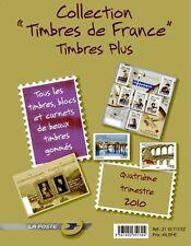 4ième Trimestre 2010 Pochette Collection timbres France Plus Cote 251€40