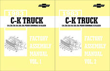1983 Chevy CK Pickup Assembly Manual C10-C30 K10-K30 and GMC Sierra Truck