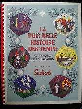 Album La plus belle histoire des temps I Chromos Suchard Bible Paradis Dieu