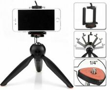 Yunteng 228 Mini Tripod Mobile Phone Holder Clip Desktop Selfie Camera Stand