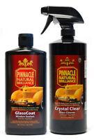 Pinnacle Glass Twins Kit Glass Cleaner & GlassCoat Window Sealant Rain Repellent