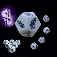 1x Sex Funny Adult Love Humour Gambling Sexy Romance Erotic Craps Dice Toy