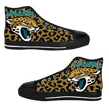 Jacksonville Jaguars Custom Sneakers High Top Canvas Casual Mens Shoes