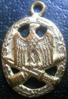 ✚6674✚ German army General Assault Badge medal post WW2 1957 pattern MINIATURE