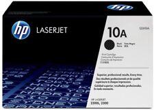 2 HP 10A (Q2610A), Black Toner Cartridges for Laserjet Printer