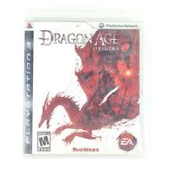 Dragon Age: Origins (Sony PlayStation 3, 2009) PS3 Complete Black Label Bioware