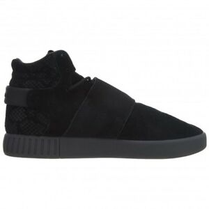 ADIDAS mens trainers sneakers shoes tubular invader suede black UK 9.5 10.5 11