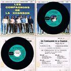LES COMPAGNONS DE LA CHANSON –45t EP– VENUS - LE MARCHAND DE BONHEUR–BIEM 1959