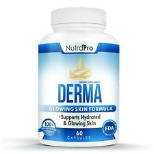 Derma Skin Supplement for Healthy, Hydrated, Glowing Skin