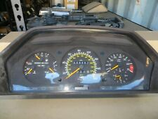 1987 MERCEDES BENZ 300E W124 FULL INSTRUMENT CLUSTER WITH GAUGES 255567 MILES