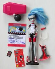 Monster High Ghoulia Yelps Physical Deaducation School Zombie Doll COMPLETE