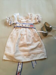 American Girl Doll Historical Outfit Felicity's Collection Summer Outfit Retired