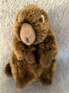 "Teddy Hermann Brown Beaver 9"" Soft Toy"