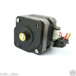 Stepper Motor NEMA 17 shaft for 5mm pulley RepRap CNC Prusa Rostock 3D printer