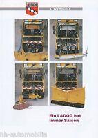 Bertsche LADOG G 129 Hydro Prospekt 7/97 1997 brochure LKWs Kommunalfahrzeug