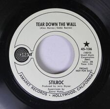 Rock Promo 45 Stilroc - Tear Donw The Wall / What The Hell Are We Doing? On Amar