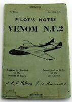 AP4335B-PN Pilots Notes for Venom NF2, first edition