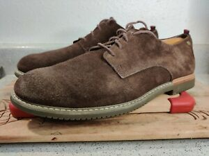 Timberland Mens Size 10 Brown Earthkeepers Brook Park Suede Oxford Shoes