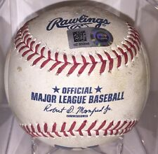 Alex Reyes Game Used Baseball St. Louis Cardinals ~ MLB DEBUT GAME