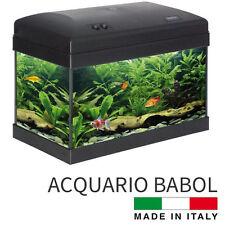 ACQUARIO ALOHA BABOL COMPLETO DI FILTRO POMPA LAMPADA LUCE 43x25x32cm