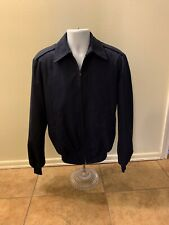 Military Issued Lightweight Navy Blue Jacket Mens Size 44 Chest Removeable Liner