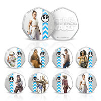 Star Wars Rise of Skywalker Rey Limited Edition Collectable Coin Bundle