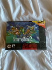 Secret Of Mana 2 SNES Super Nintendo New Sealed