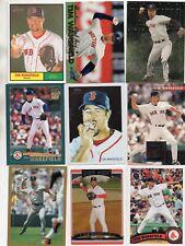 9-tim wakefield all boston red sox card lot nice mix