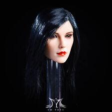"""KUMIK 16-84 1//6 capelli castani Testa Scultura Ragazza Donna F 12/"""" PHICEN Figura Corpo Bambola"""