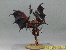 25mm Warhammer WDS painted Daemons of Chaos Khorne Bloodthirster c75