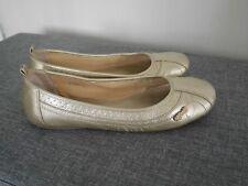 Esprit Ballerina Gold Damen Schuhe Gr. 40
