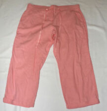 Next Linen Loose Fit Mid Women's Trousers