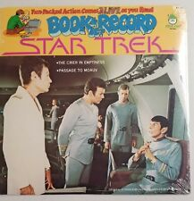 Star Trek 1979 Peter Pan Book & Lp Record Set Brand New Br 522 Passage Moauv