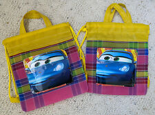 """2 Pcs Cars Party Favor Bags Goodie Loot Tote - 8 1/2 """" x 10� x 1� - New"""